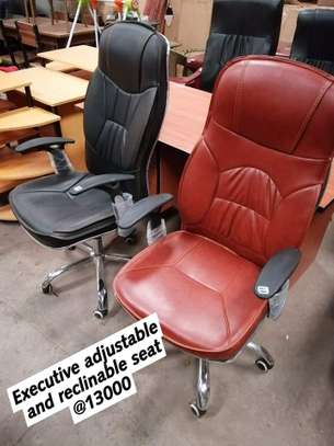 Executive Adjustable and Reclinable Seats image 2