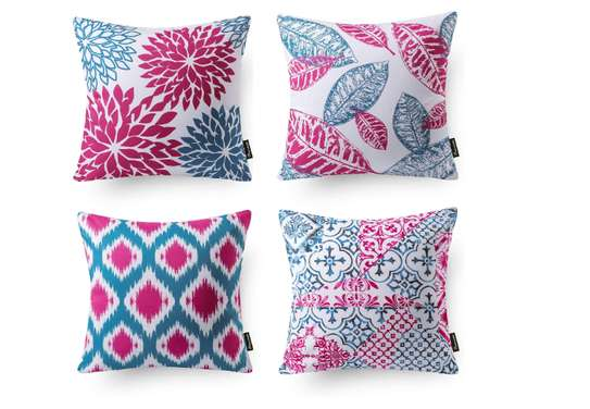 Decorative Unique Throw Pillow Case Cushion Covers a set of 4 pieces at Ksh. 3200 image 8