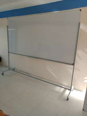 Whiteboards 8*4 With Castor Wheels image 1