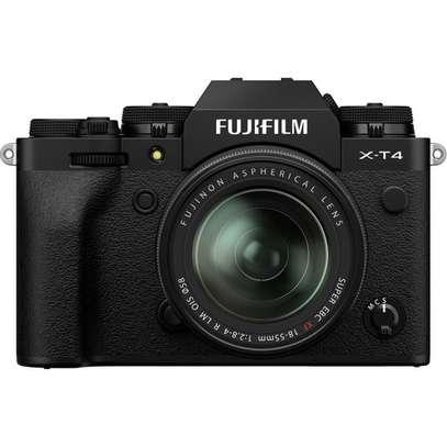 FUJIFILM X-T4 Mirrorless Digital Camera with 18-55mm Lens (Black) image 1