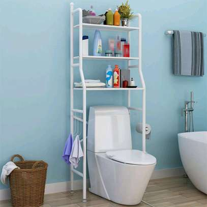 Toilet organizer and storage image 1