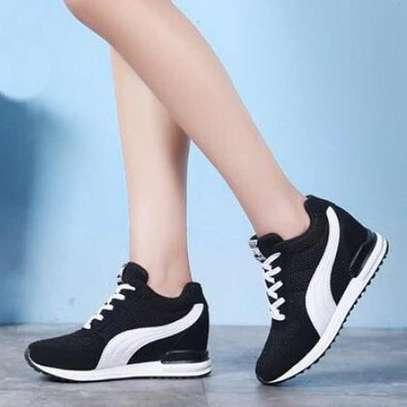 Wedged sneakers image 1