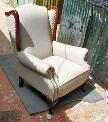 Elegant Timeless Quality Wingback Chair
