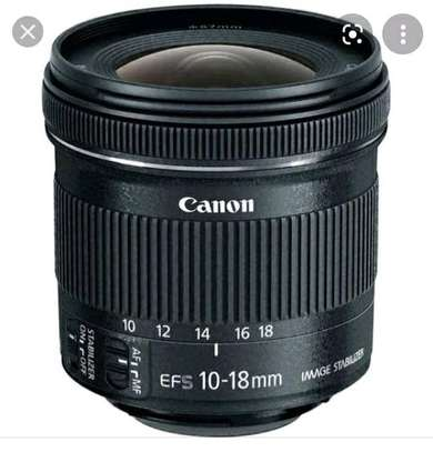 Canon camera lens 10-18mm image 1