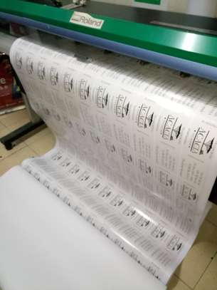 Durable Large Format Stickers Printing In 1hr