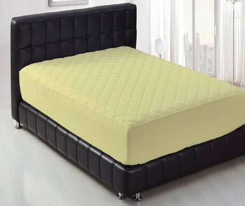 mattress protector 5 by 6 yellow image 1
