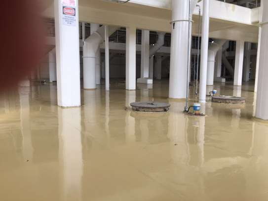 Fossilcote Floor installation for Ajabu Flour Mill Co. image 2
