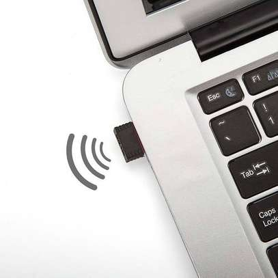 Mini USB WiFi Dongle B/G/N Wireless Network Adapter for Laptop PC. - N/A image 2