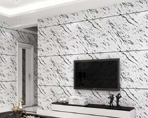 wallpaper light grey print image 1