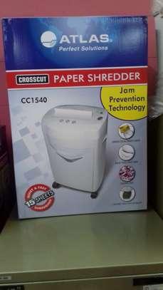 Atlas CC1540 Cross Cut Paper Shredder image 1