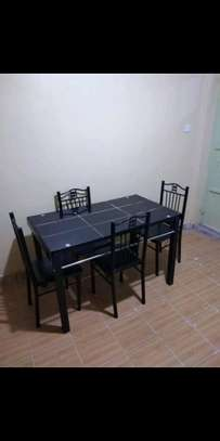 Blessed family dining table with four seats at fair price image 1