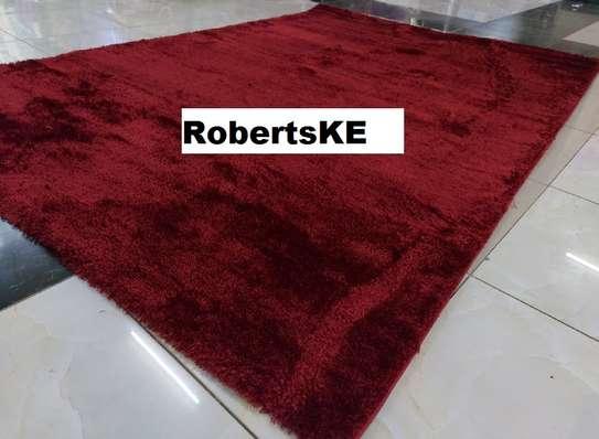 Turkish soft maroon carpet image 1
