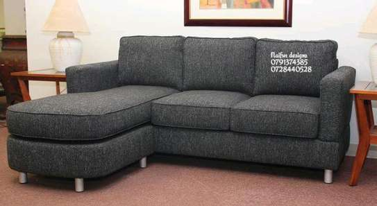 Grey Four seater L shaped sofas for sale in Nairobi Kenya/three seater sofa for sale in Nairobi Kenya image 1