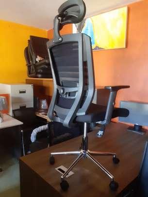 Orthopedic Mesh Chairs With Tilt Mechanism, Adjustable Arms & Adjustable Headrest image 5