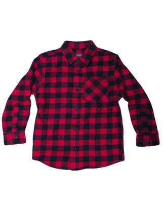 Red checked shirt  and jeans for toddlers 2-3yrs