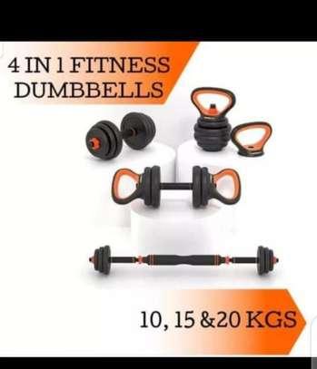 4 in 1 fitness dumbells image 1