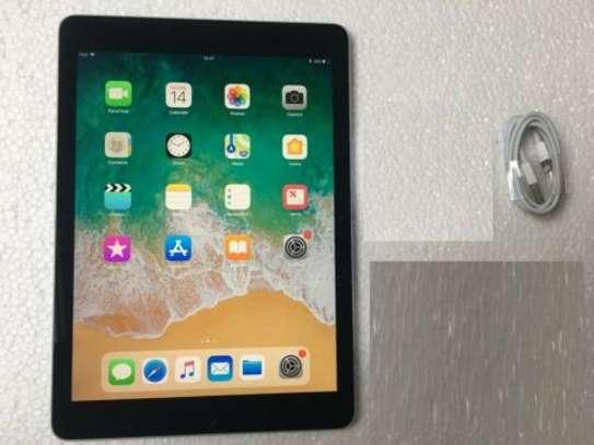 Apple iPad 5th Gen A1822 128GB, Wi-Fi , 9.7in - 2017 Model - Grey image 2
