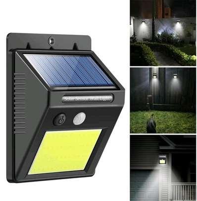 Motion sensor Outdoor solar lamp image 1