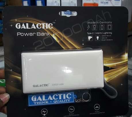 Galactic Powerbank 20000mah- Fast Charging image 1