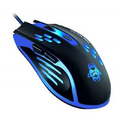 Cliptec Gaming Mouse Blue image 1