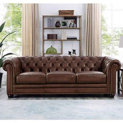 Great leather 5 seater sofasets