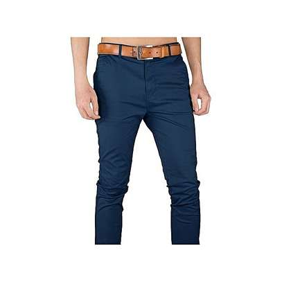 Trouser Stretch Official/Casual - Navy Blue image 1