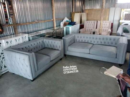 Five seater sofas for sale in Nairobi Kenya/Modern tufted sofas for sale in Nairobi Kenya/two seater sofa/three seater sofa image 2