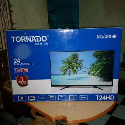 24 inch Digital TV - Tornado new with Delivery image 1