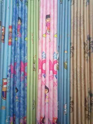 Kids cartoon themed curtains image 1