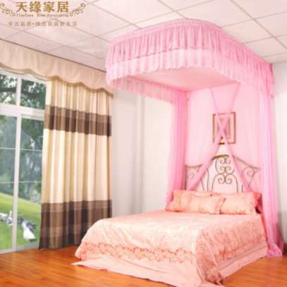 2 STAND MOSQUITO NET WITH SLIDING RAILS image 2