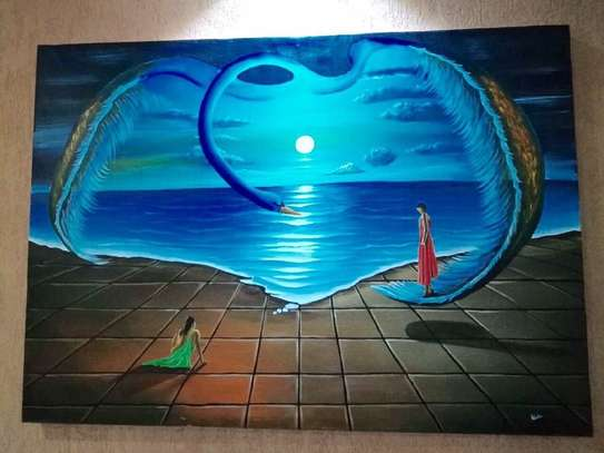 Sungura Art Painting Wall decor Painting On Canvas image 9