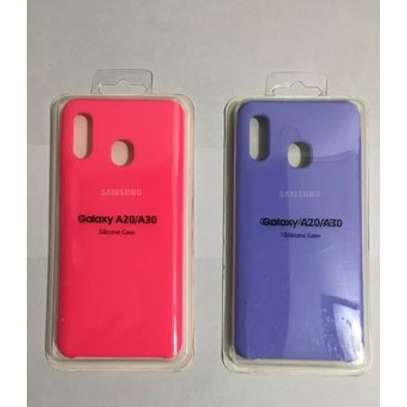 Silicone case with Soft Touch for Samsung A70,A60,A50,A40,A30,A20 image 2