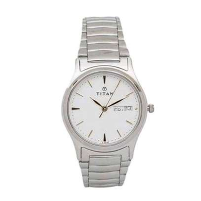 Titan Silver Men's Watch