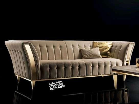 Three seater sofas/beige sofas image 1