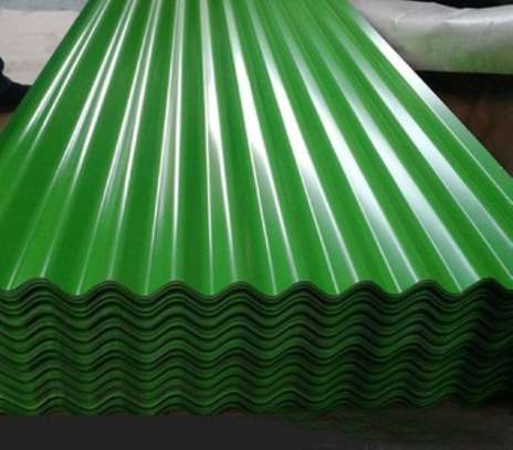 Roofing sheet - colored corrugated iron sheets