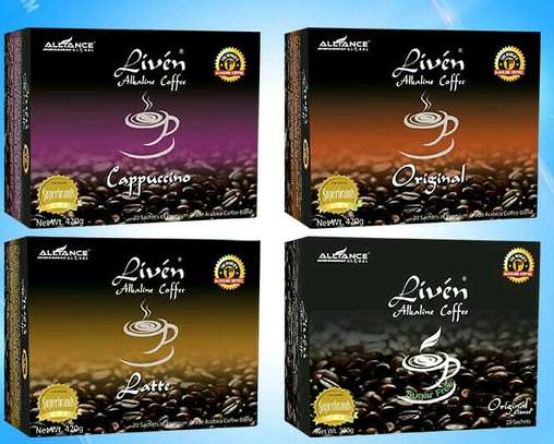 LIVEN ALKALINE COFFEE image 1