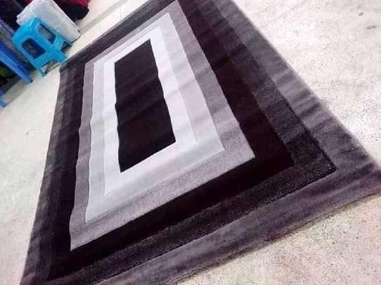 viva carpets  brown and black print image 1