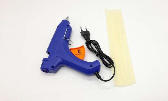 Hot Melt Glue Gun with 5 Glue Sticks image 3