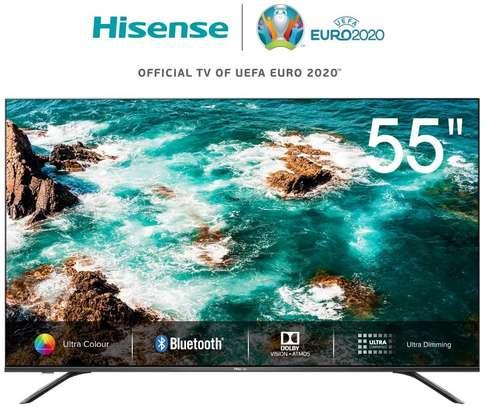Hisense 55 inch Smart 4K ULED TV - 55B8000UW - HDR - Dolby Vision - Dolby Atmos - Bluetooth - Frameless