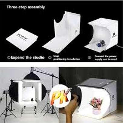 Adjustable Color Temperature & Brightness Light Box Photography, Folding Portable Photography image 1