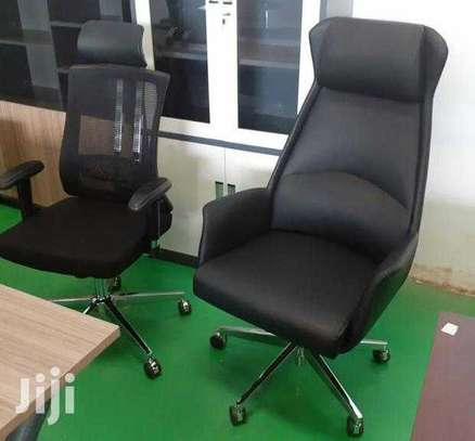 Executive Leather Office Director Chairs Ksh. 22,000 With Free Delivery image 1
