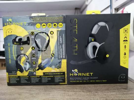 STEALTH HORNET MULTI-FORMAT STEREO GAMING HEADSET (NINTENDO, PC, PS4) image 3