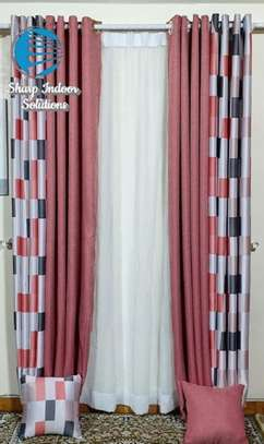 decorative double sided curtains image 8