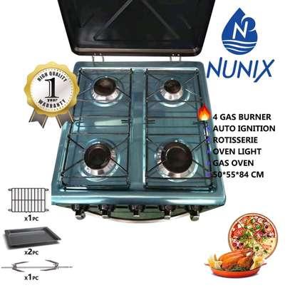 4 gass burner /NuNix gass cooker/auto ignition gass cooker image 2
