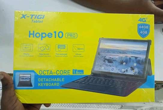Tablet with Keyboard, X-tigi Hope 10 pro 64gb 4gb Ram, 6000mAh battery(in shop) image 1