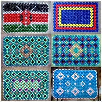 Beaded Table Mats (Large) image 1