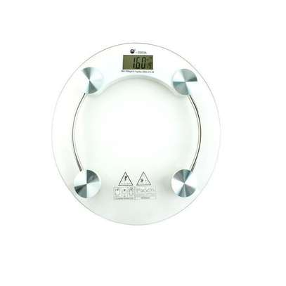 Electronic Bathroom Weighing Scale - 180KG image 1