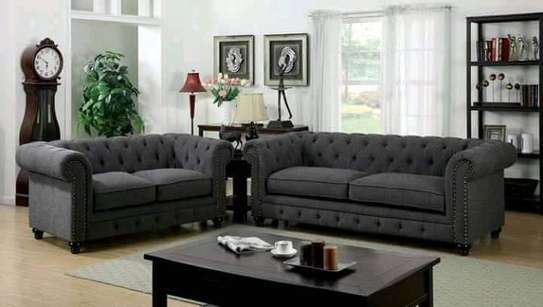 Lshape chesterfield Sofa image 1