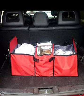 Foldable car boot organizer image 6