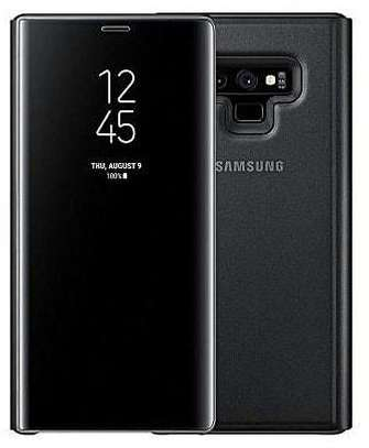 Clear View Flip Cover for Samsung Note 9 With Sensor image 1